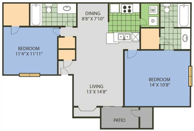 Baseline Floor Plan 9