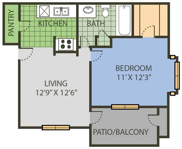 Net Floor Plan 1