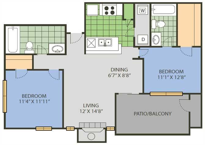 Tournament Floor Plan 11