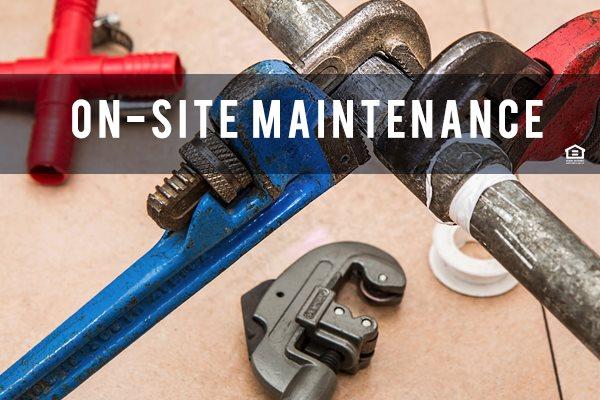 Onsite maintenance at 150 Summit, Birmingham, AL,35243