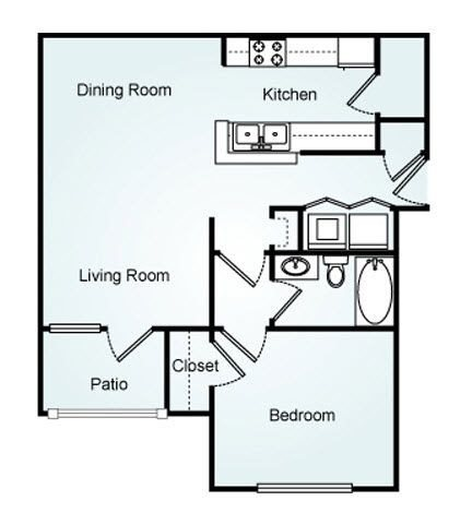 The Heights Floorplan at 150 Summit