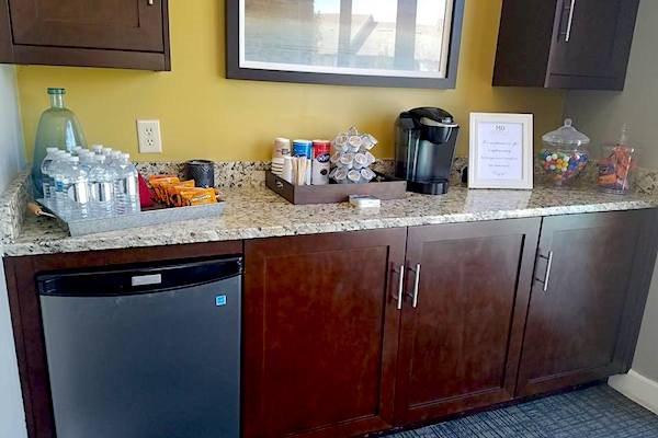 150 Summit, Birmingham, AL,35243 complimentary coffee and snack bar