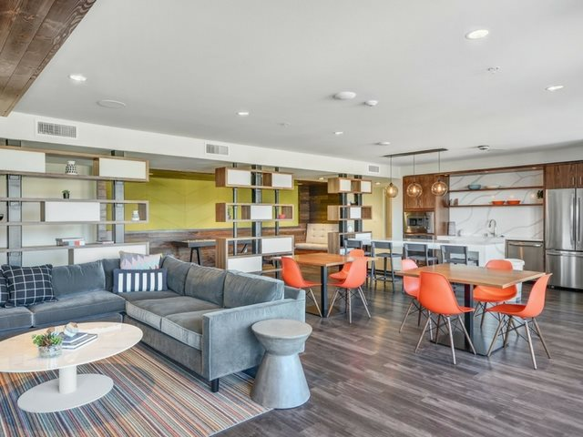 Common Dining Area  at The Whittaker, Washington 98116
