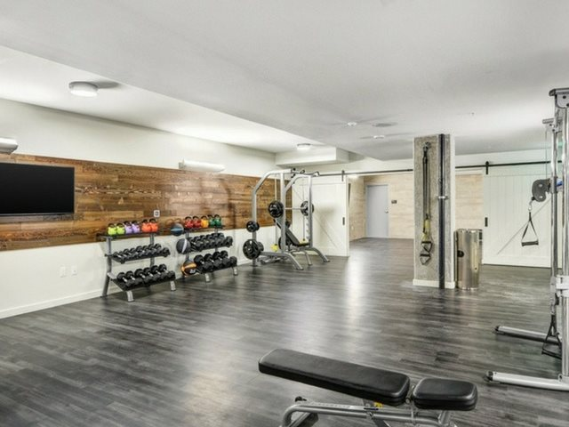 Fitness Gym  at The Whittaker, Washington 98116