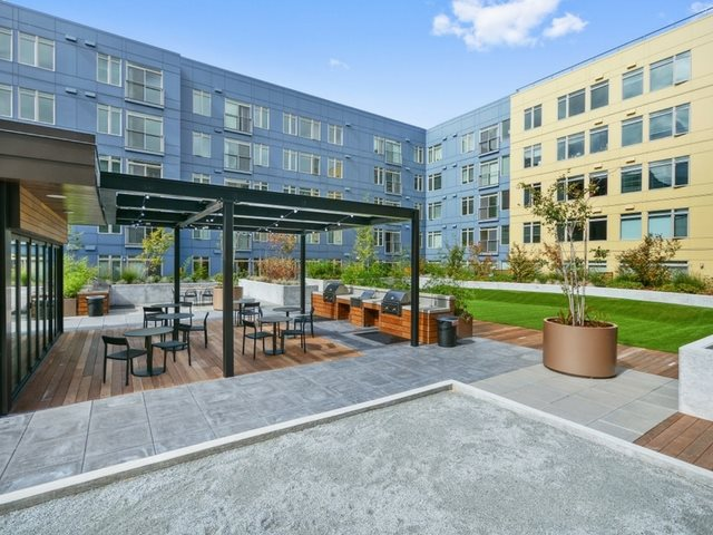 Outdoor Seating Area  at The Whittaker, Washington 98116