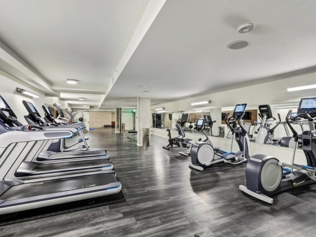 Modern Fitness Center  at The Whittaker, Washington 98116
