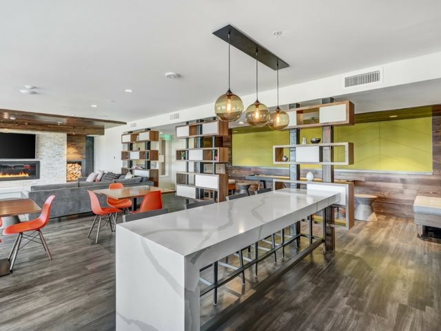 Communal Dining Table  at The Whittaker, Washington 98116