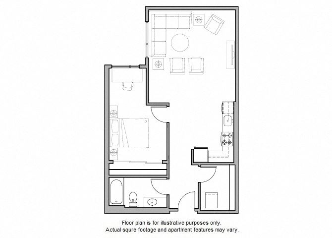 A24 Floor Plan at The Whittaker