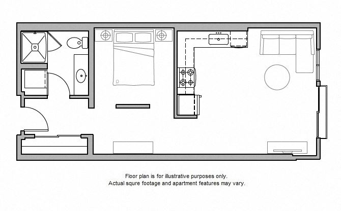 O14 Floor Plan at The Whittaker