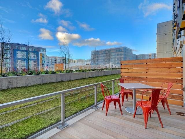 Private Patios And Balconies  at The Whittaker, Seattle, 98116