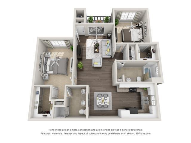 El Encanto Floor Plan 2