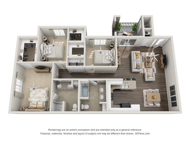 Bacara Floor Plan 3