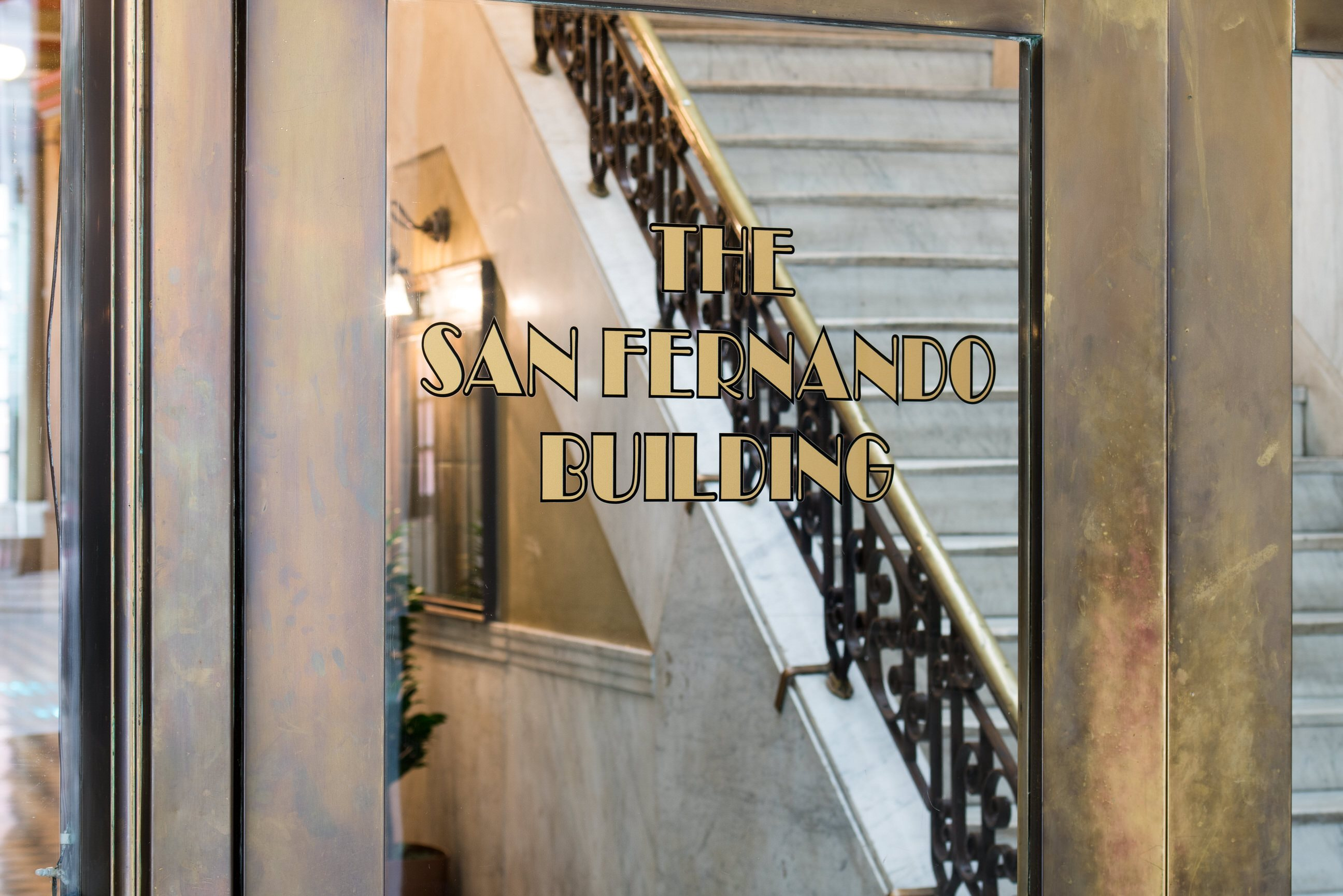 Entrance Photo of San Fernando Building Lofts in Downtown Los Angeles, CA 90013