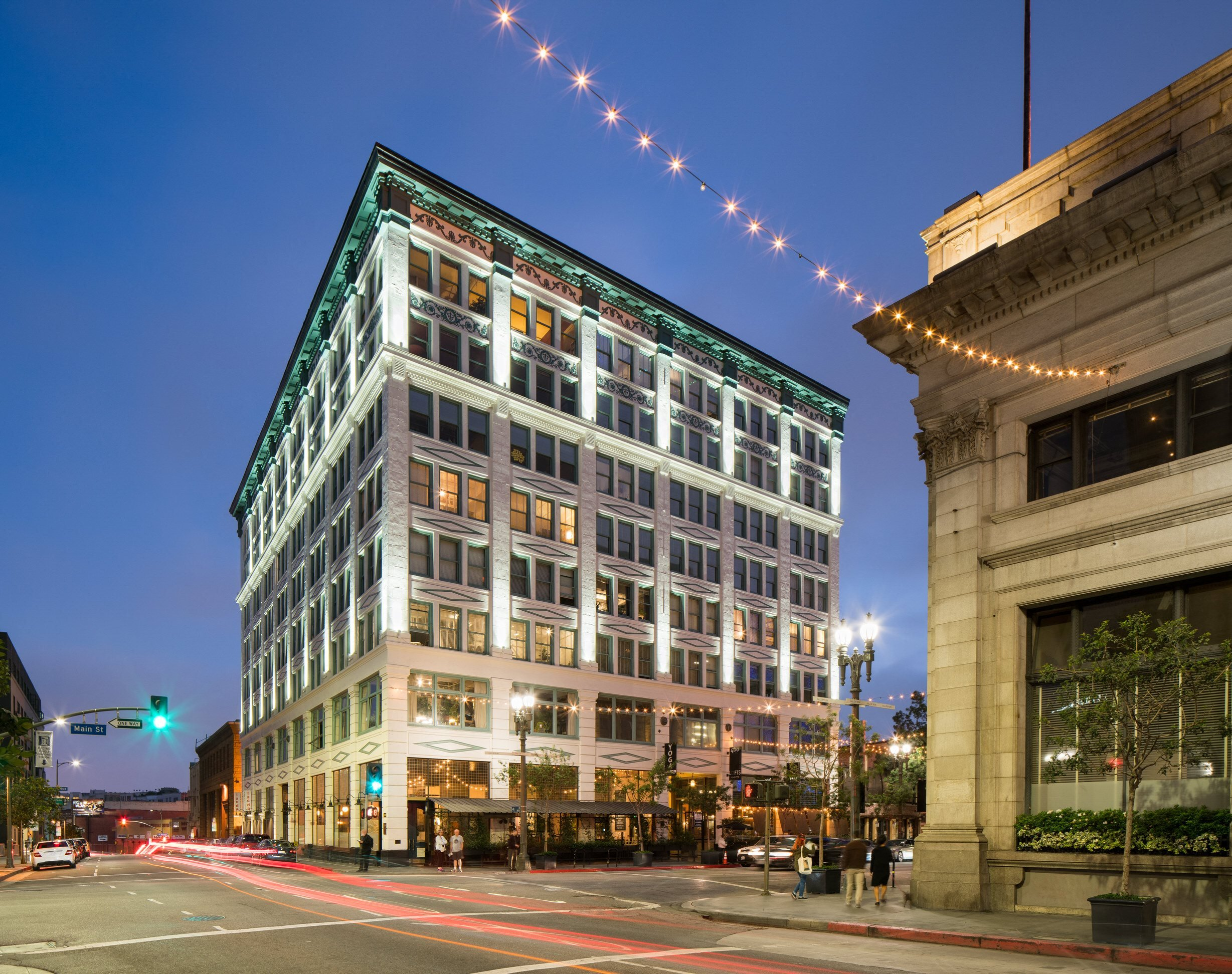 Exterior Photo of San Fernando Building Lofts in Downtown Los Angeles, CA 90013