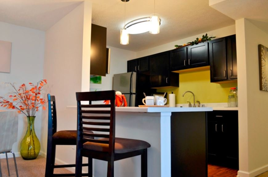 Silver Kitchen Appliance Packages. Lovely Kitchen At 300 At The Circle  Apartments  Apartment Appliance Packages