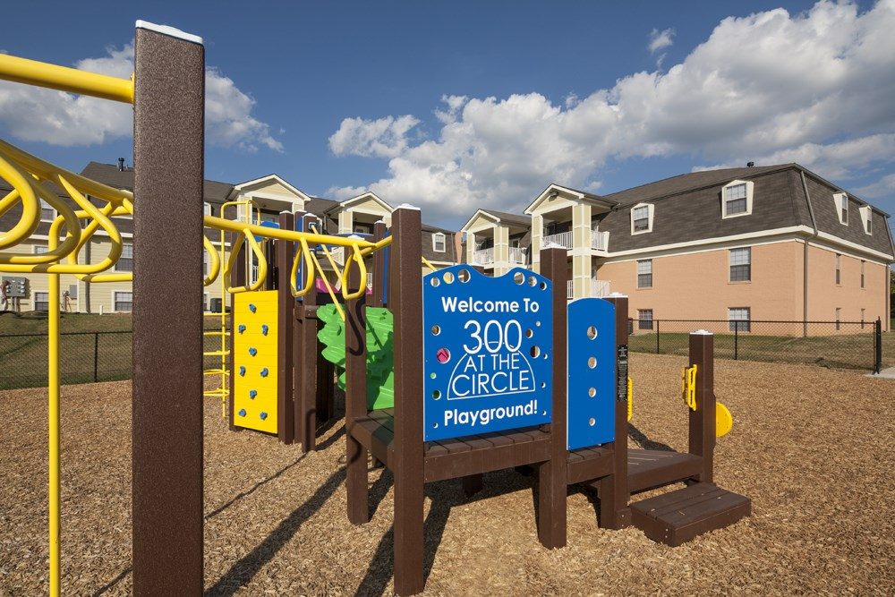 Playground at 300 at the Circle Apartments in Lexington, KY
