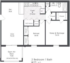 2 Bedroom Apartment Lexington