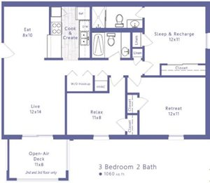 3 Bedroom Apartment Lexington