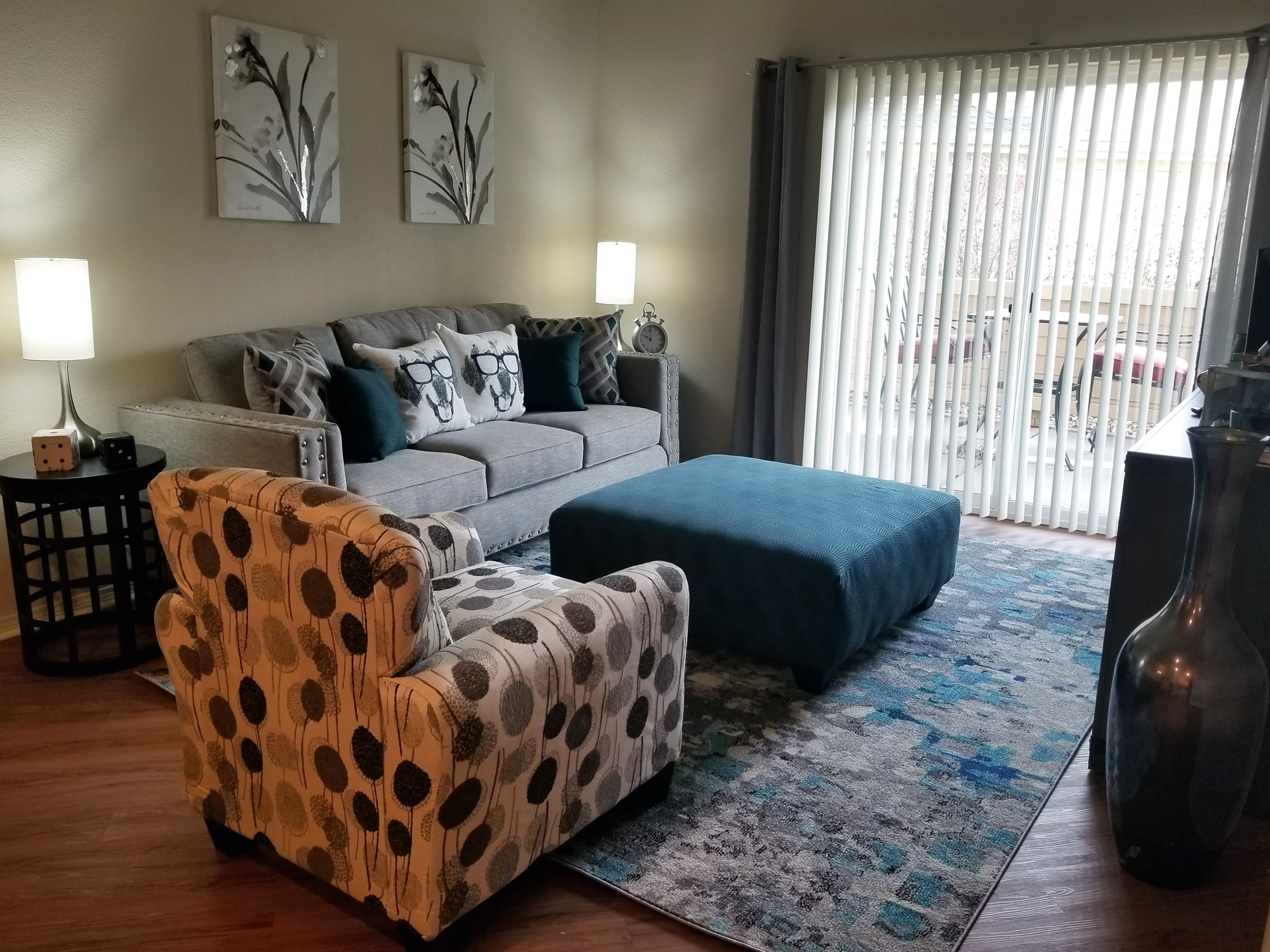 Living Room at The Preserve at the Meadows Apartments in Fort Collins, CO