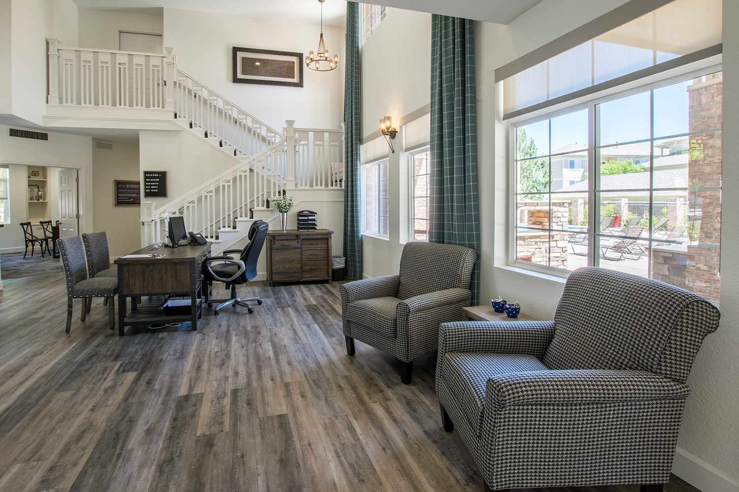 Clubhouse at The Preserve at the Meadows Apartments in Fort Collins, CO