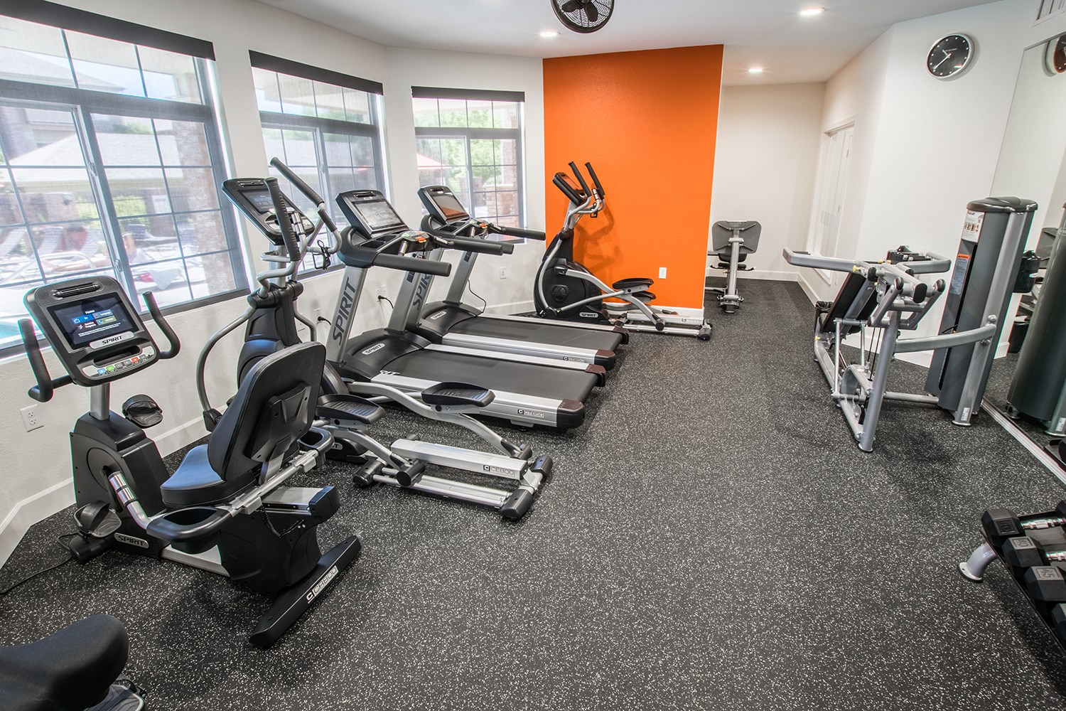 Fitness Center at The Preserve at the Meadows Apartments in Fort Collins, CO