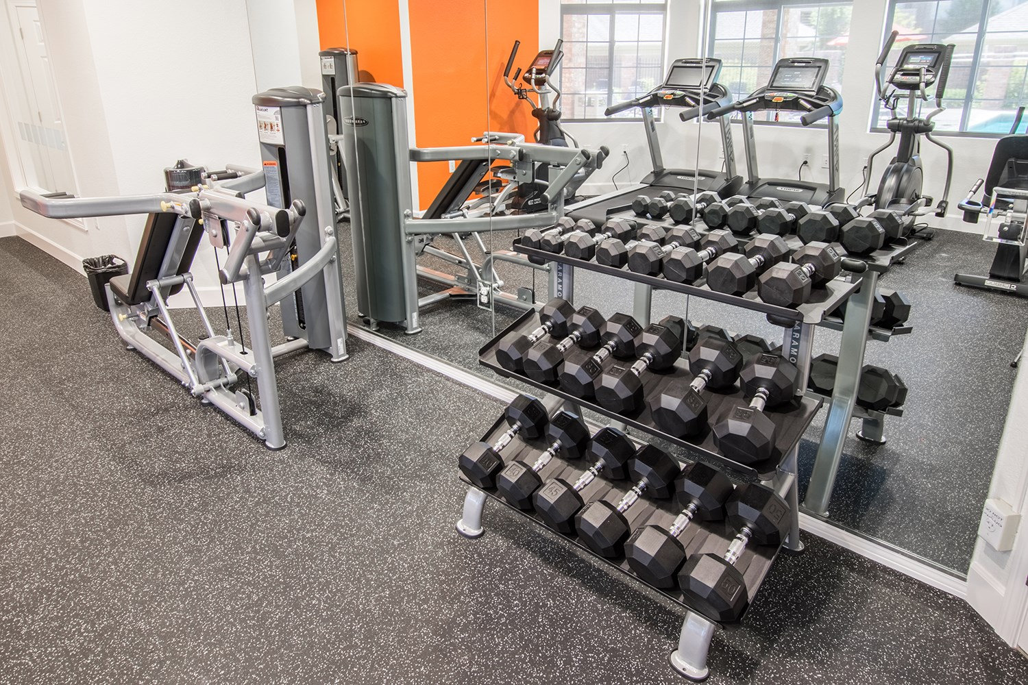 Free Weights at The Preserve at the Meadows Apartments in Fort Collins, CO
