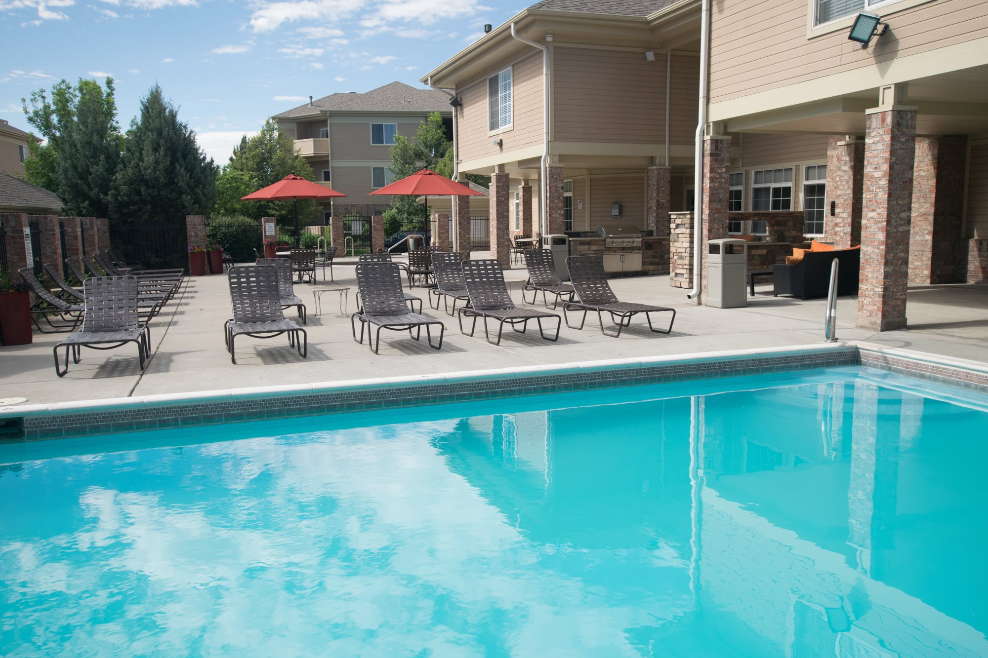 Swimming Pool at The Preserve at the Meadows Apartments in Fort Collins, CO