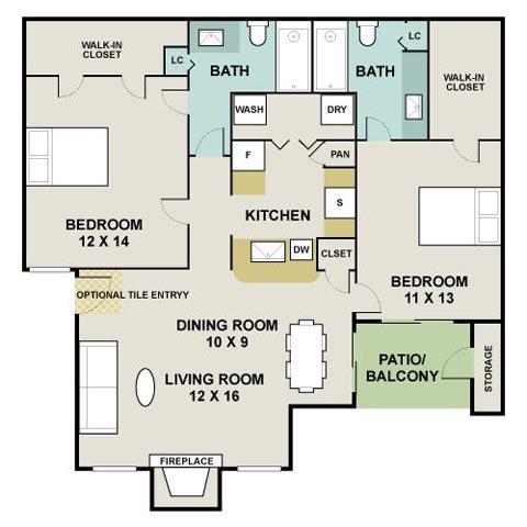 Desert Oak Floor Plan 7