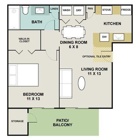 Maplewood Floor Plan 1