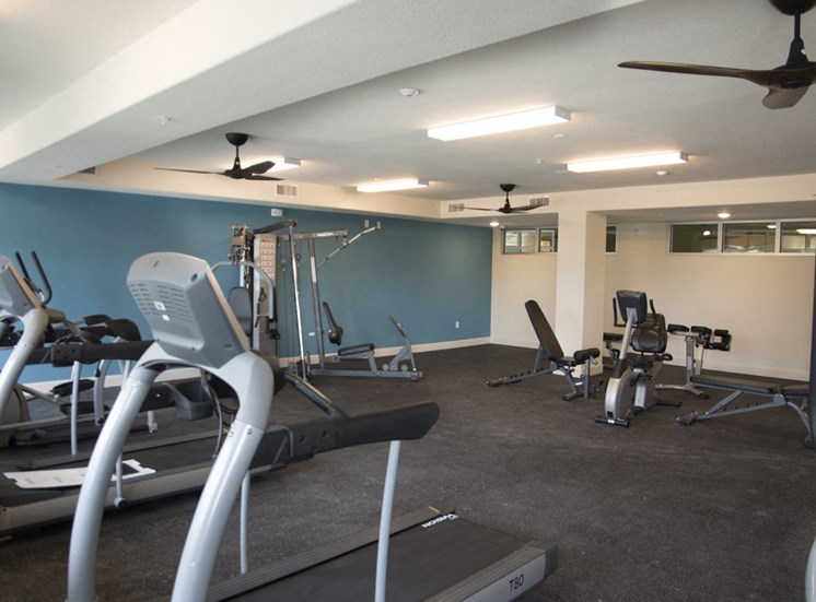 Workout center open to residents 24 hours