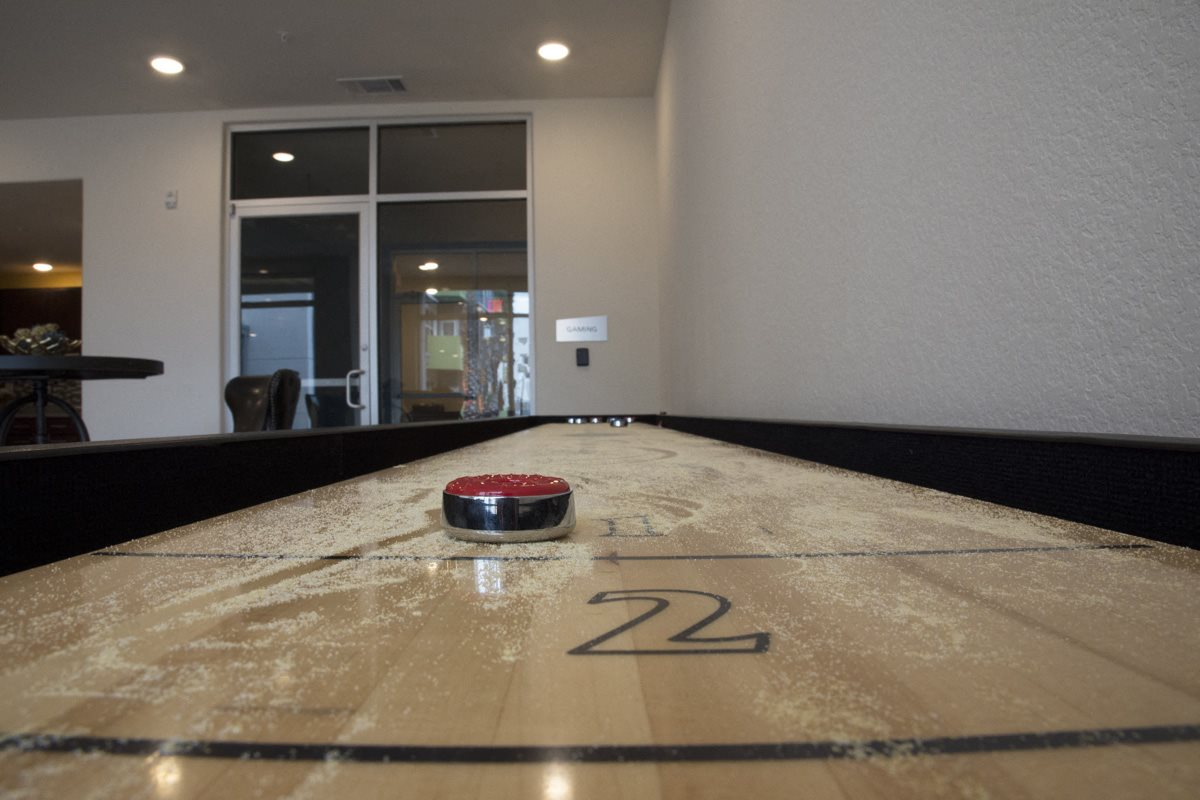 Shuffleboard at Urban Crest