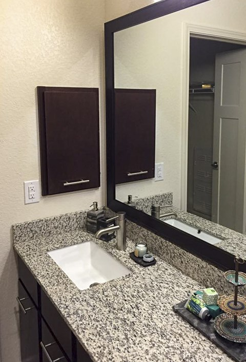 Granite Countertops in the Bathrooms