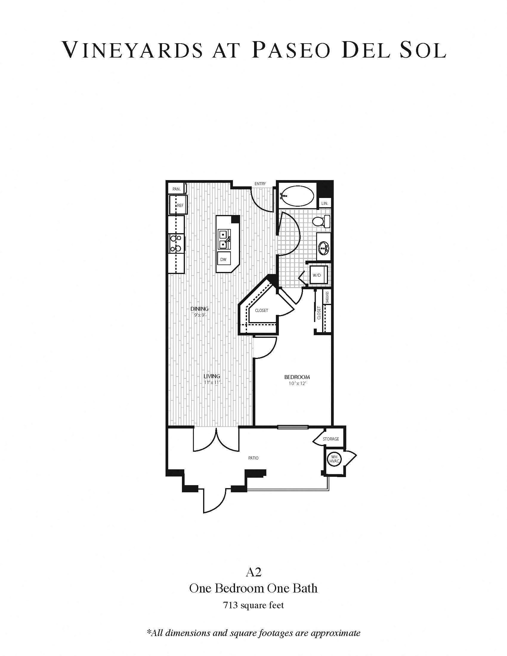 1b/1b - Large Floor Plan 2