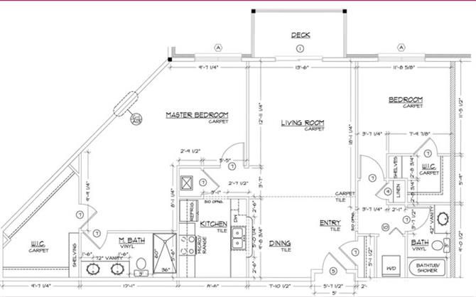 Floor Plans Of Chantacleer Apartments In Lincoln Ne