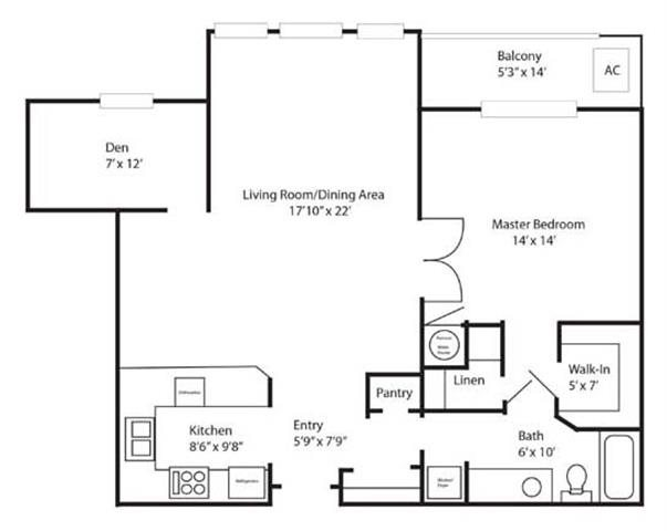 Floor Plans Of Chatelaine In Lincoln Ne