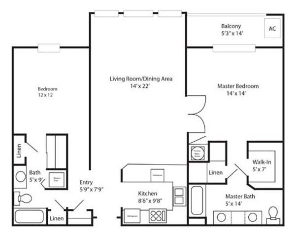 Floor Plans Of Chatelaine In Lincoln Ne