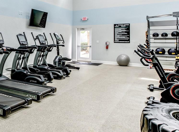 State Of The Art Fitness Center at Pine Harbour, Florida