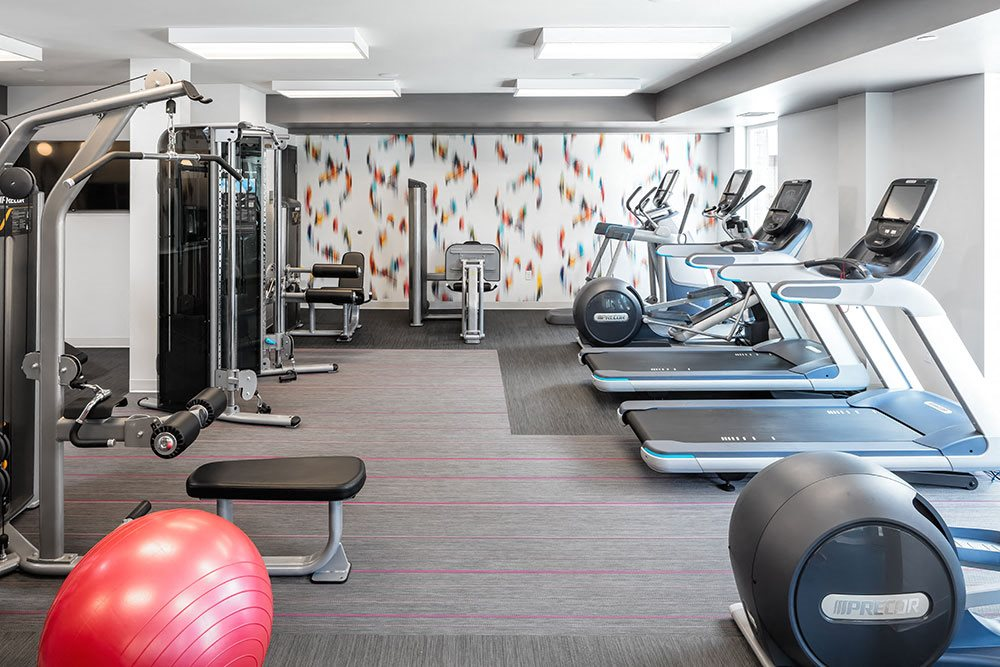 Foundry Lake Street Apartments Lifestyle - Fitness Center