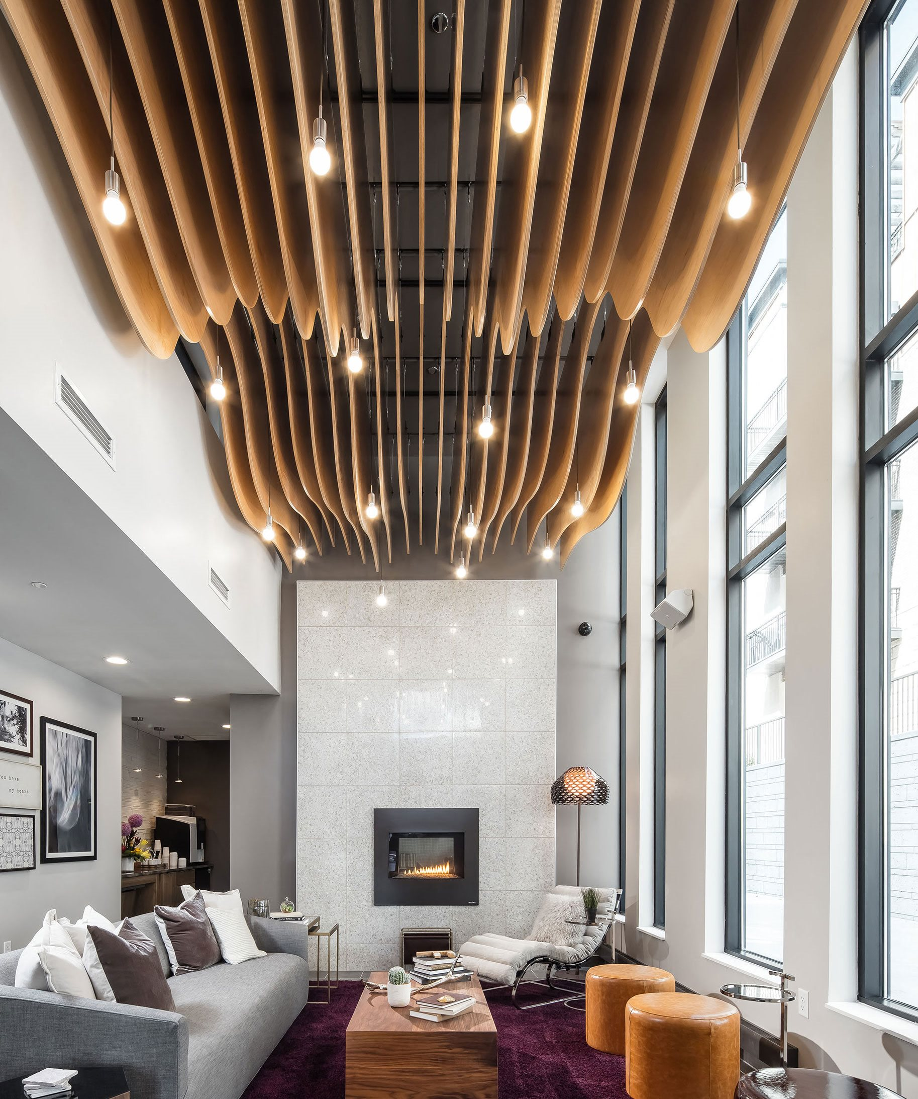Foundry Lake Street Apartments Lobby