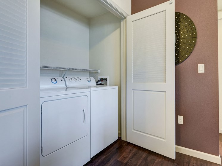 Full Sized Washer and Dryer Included, at SETA, 7346 Parkway Dr, CA