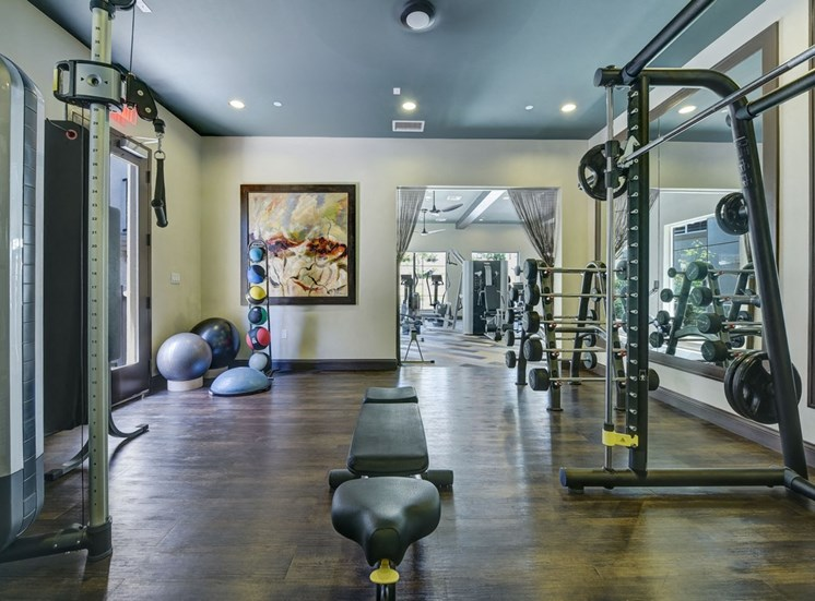 Fitness Center with Separate Spin Room, at SETA, 7346 Parkway Dr