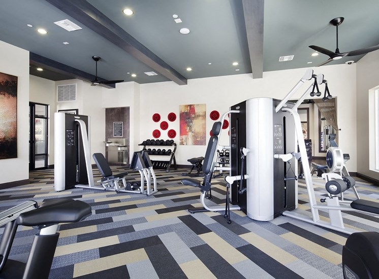 Professional-Grade Fitness Center, at SETA, La Mesa, CA