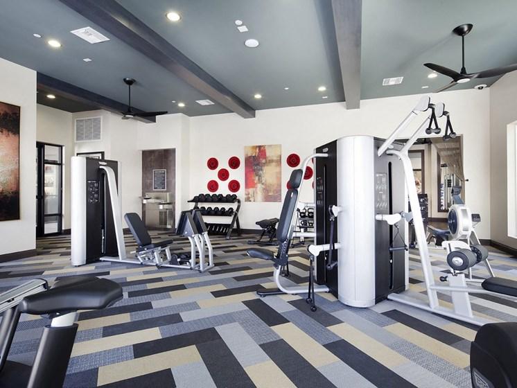 Professional-Grade Fitness Center, at SETA, La Mesa, CA