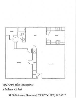 Hyde Park West Apartments 3755 Delaware Beaumont Tx Rentcafe