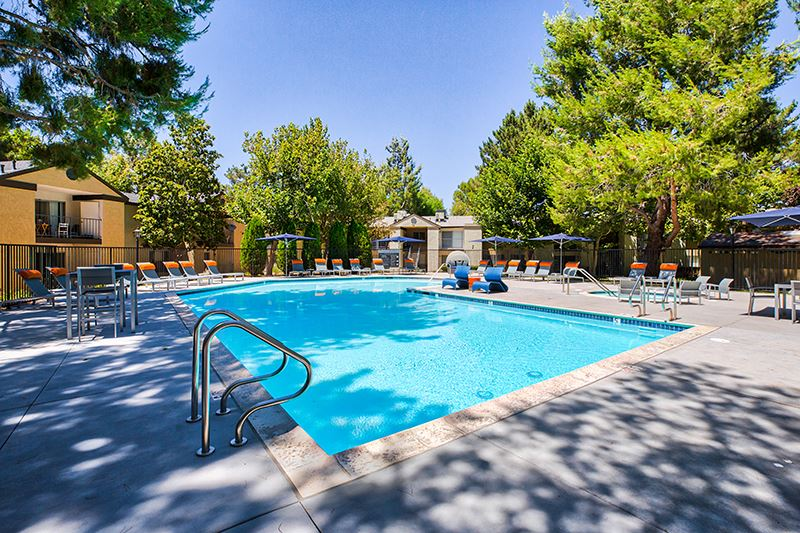 One of two pools at Mountain Vista Apartment Homes