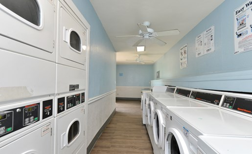 1 of 3 Laundry Facilities
