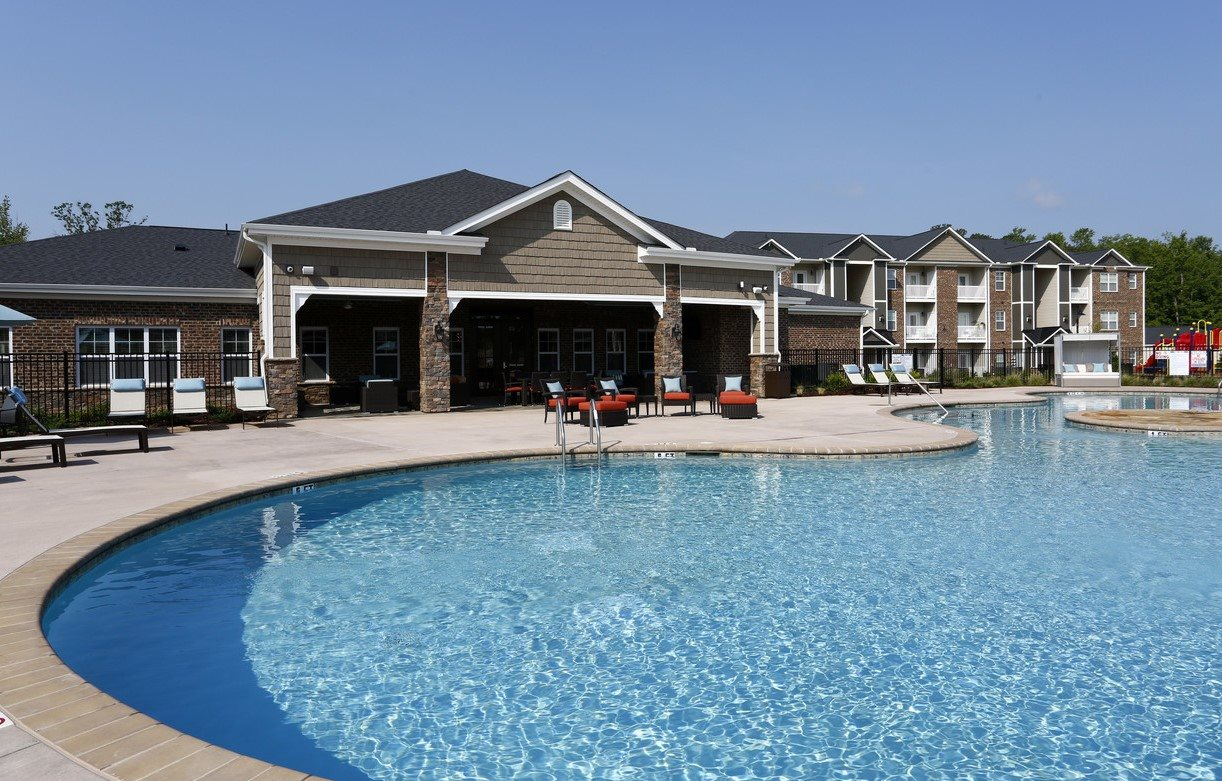 Resort Style Pool at Stallings Mill Apartments