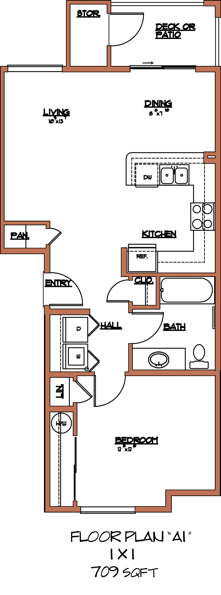 The Batavia II Floor Plan 3