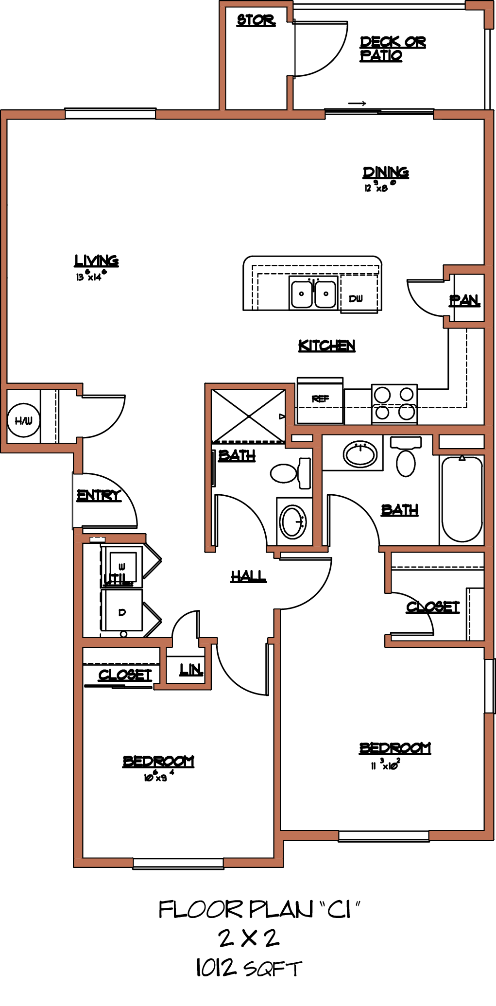 The Holland II Floor Plan 6