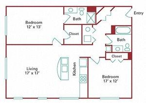 *New Construction* 2 Bedroom Apartment